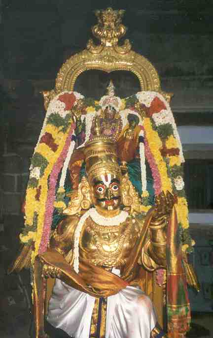Garuda Sevai - Sri Villiputtur